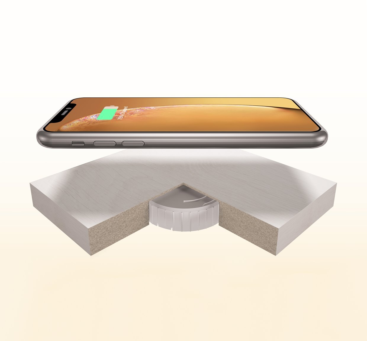 Integrate Wireless Charger Invisa-Qi